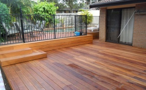 unsanded deck