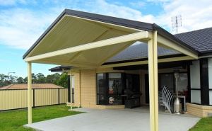 aluminium pitch roof